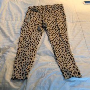 Chico's Leopard Print Leggings